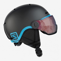 SALOMON CASCO GROM VISOR BLACK