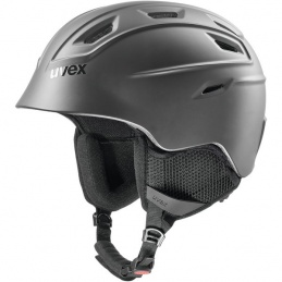 UVEX CASCO FIERCE BLACK MAT
