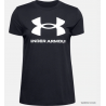 UNDER ARMOUR T-SHIRT GRAPHIC SPORTSTYLE NERA 1356305