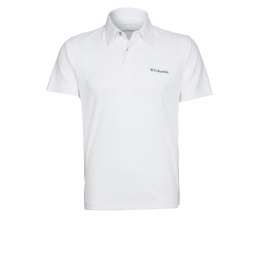COLUMBIA POLO SUN RIDGE WHITE